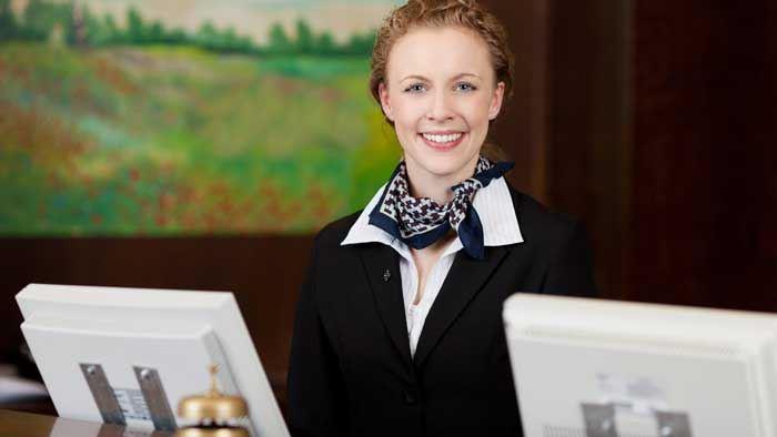 Hotel Front Desk Clerk Design Ideas